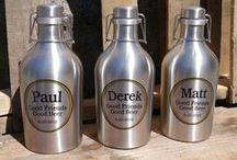 Personalized Beer Drinkware