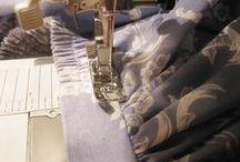 Técnicas de costura e acabamento