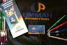 Promotional products in action / Collection of pins showing usage of promotional products by businesses, organizations and professionals.  / by Ummah Promotions
