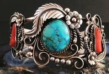 Turquoise/Coral/Silver - Ethnic / by J de Asturias