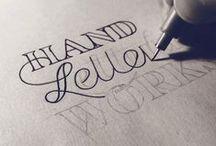 fonts & handlettering // Schriften // Typo