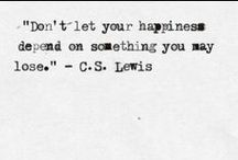 quotes // Zitate & schöne Worte