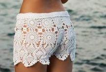 Crochet pantalones