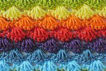 Crochet puntos, símbolos