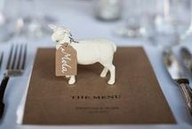 PLACE CARDS / Wedding place cards