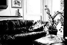 Fekete-fehér olajfestményeim