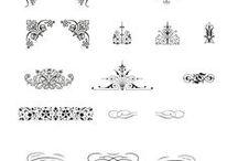Ornamentit ja nahkakorut ym