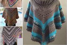 Crochet capas y ponchos