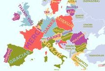 Európa térképek, másképp...