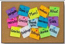 Európa nyelvei / Alapvető kifejezések több európai nyelven.