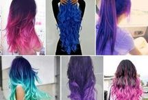 Awesome Hair Colors and Styles! / Rockabilly, retro, pastel, goth, punk, colorful, grunge hair inspiration / by Rebel Circus
