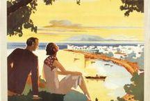 """Görög vintage utazási plakátok / Amikor még az utazás nagyobb luxus volt - válogatás a XX. század legérdekesebb görög utazási plakátjaiból - a Görög Nemzeti Turisztikai Hivatal (""""GNTO"""") plakátjai alapján Forrás: gnto.gov.gr/el/posters"""