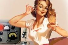 Pin Ups / The 40's and 50's comes back to life with these adorable pin ups / by Rebel Circus