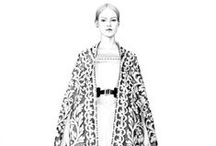 Fashion Illustration / To look, and admire and be inspired by ...