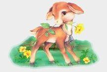 Mesevilág: Állatok (Dreamland: Animals) / clip-art
