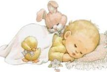 Ruth J. Morehead Illustration: Babies / art