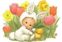 Ruth J. Morehead Illustration: Easter / art