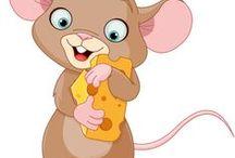 Mesevilág: Egérkék (Dreamland: Mouse) / clip-art