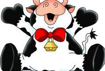 Mesevilág: Bocik (Dreamland: Cow) / clip-art