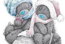 Me To You: winter (art) / Tatty Teddy