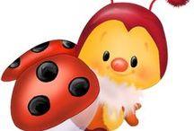 Mesevilág: Katicák (Dreamland: Ladybug) / clip-art