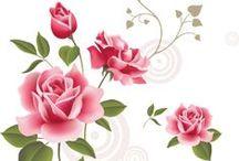 PNG Virágok / art