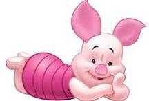 Winnie the Pooh: Malacka (Piglet) / Disney Cartoon