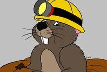 Winnie the Pooh: Ürge (Gopher) / Disney Cartoon