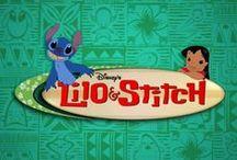 Rajzilmsorozat: Lilo és Stitch kalandjai 2003-2004' / art