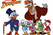 Rajzfilmsorozat: Kacsamesék (DuckTales) 1987-1990 / art