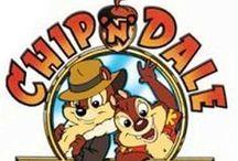 Rajzfilmsorozat: Csip és Dale - A csipet csapat (Chip 'n' Dale Rescue Rangers) 1989-1990' / art
