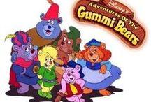 Rajtfilmsorozat: A gumimacik (Adventures of the Gummi Bears) 1985-1990' / Art
