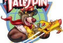 Rajzfilmsorozat: Balu kapitány kalandjai (Tale Spin) 1990-1991' / art
