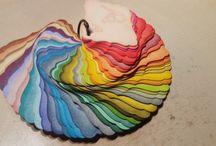 Tim Holtz Distress Inks Colorswatch / Distress ink  fargekart