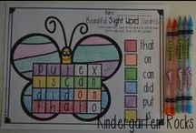 Kindergarten Activities / Pin all of your creative and fabulous ideas-no strings attached!  Email at littlegigglesandwiggles@gmail.com to be added.