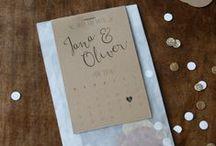 konfetti hochzeits-papeterie | confetti wedding stationery