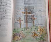 Oude bijbeltekeningen/old bible journaling