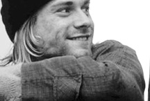 Kurt Cobain / He maybe be gone, but his music lives on... may he rest in peace / by Elizabeth Shuey