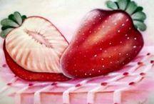 Pintura em tecido / arte / by Marilene Manzatto