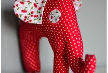Elephants of happines / little sew things made with love by KOCIKOWO