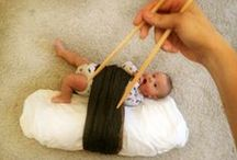 Baby fotos / Cute and ingenous ideas for baby pictures. Be inspired!