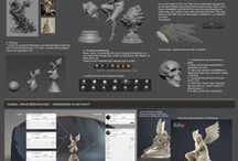 Tutorials / Many tutorials from web, 3D Max, Vray, Zbrush and many many more !   Check my website - http://pnowacki.com