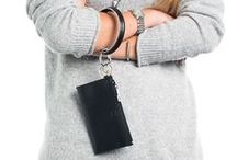 Back In Black / The Big O Key Ring's Back in Black, black color inspiration, black colors, black things, black accessories, black products, black rings, black bags, black recipes, all things black, key holders, key rings