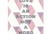 Love of the words / I always need a little quote from day to day to recharge battery, it gives me inspirational fluid, motivation, a feeling of happiness, a moment of mind relaxation. Sharing the ones I love with you.