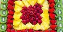 Dekorační ovocné mísy