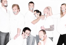 NOH8 / Awesomely awesome people supporting the NOH8 campaign. Give them much love / by Kit Taylor