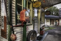 Gas Pumps & Garages / by phil bennett