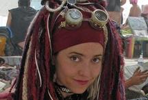 Burning Man || Hairstyles / #burningman impressions