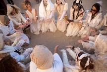 Burning Man || Yoga || Chanting || Ceremonies / #burningman impressions