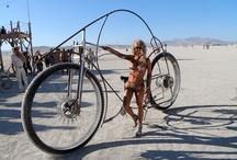 Burning Man || Ways to Move Around / #burningman impressions